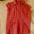 Отдается в дар Рубашка красная на девочку